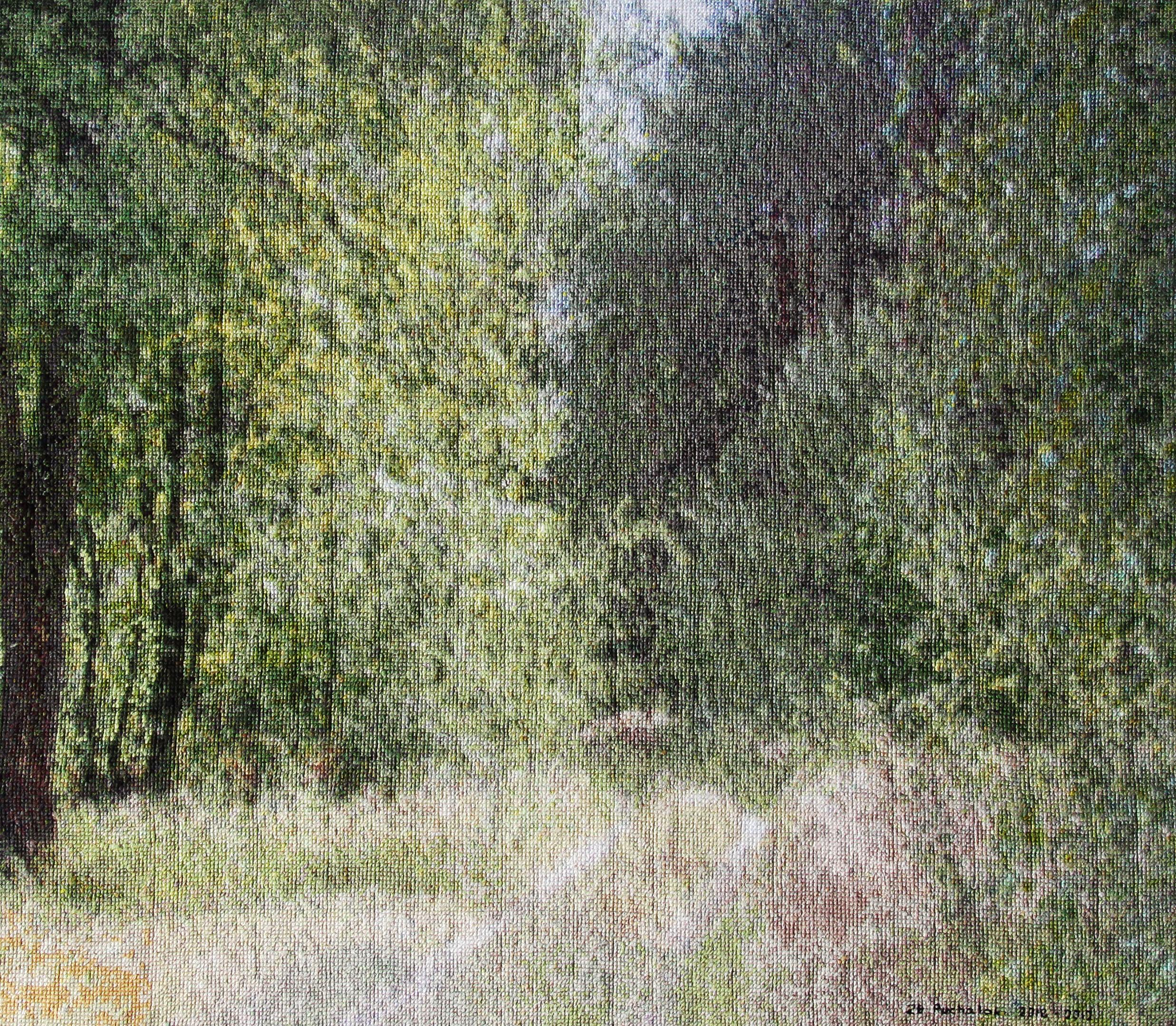 droga-przez-las-wyhaftowany